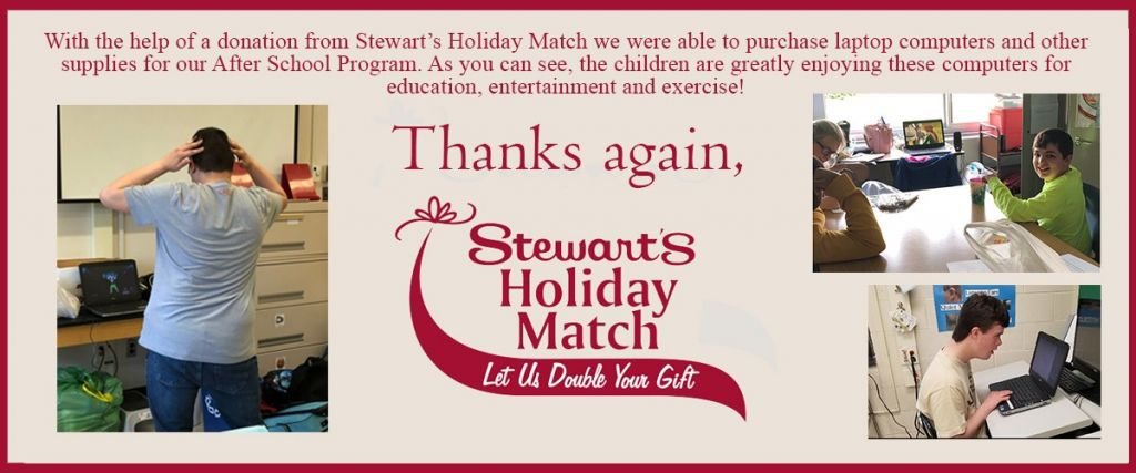 Living Resources' Stewarts Holiday Match