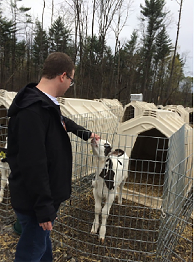 Saratoga DCOP on a tour on Ideal Dairy Farms