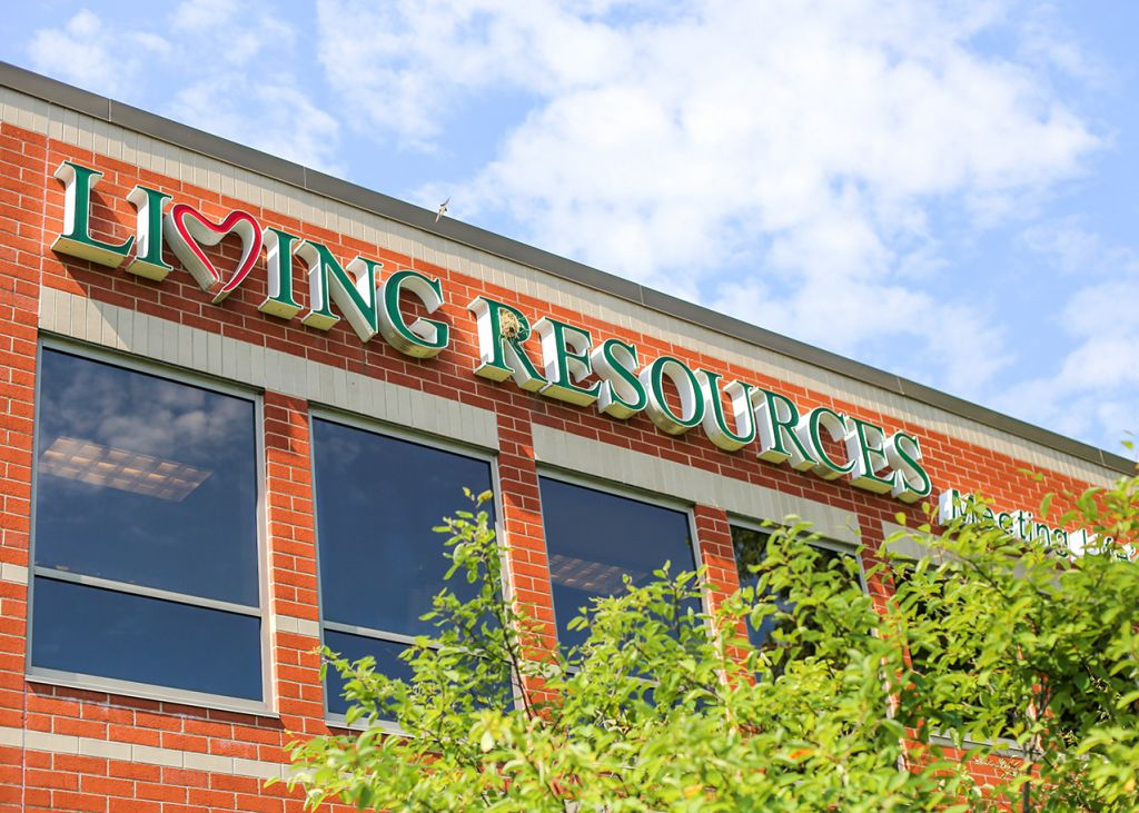 Living Resources Building Image Outside View