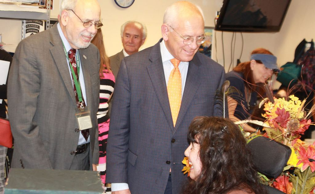 Congressman Paul Tonko Visits Members and Employees at Living Resources