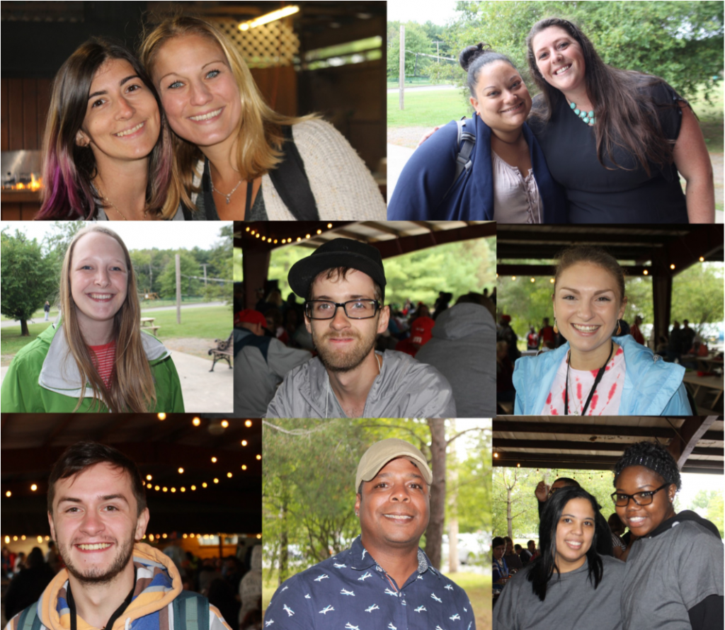 Living Resources Montage of Employees